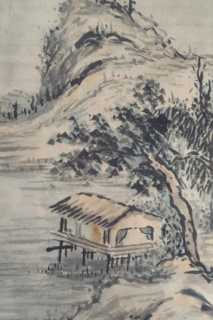 Hur So-Chi,Kor.,2 Landscapes,ink on paper,sealed - 5