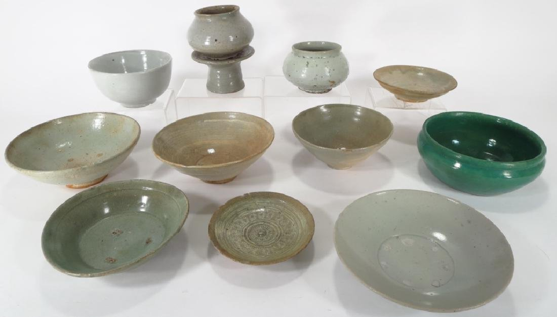 Grp of Korean Ceramic Bowls,possibly 11-13th C.