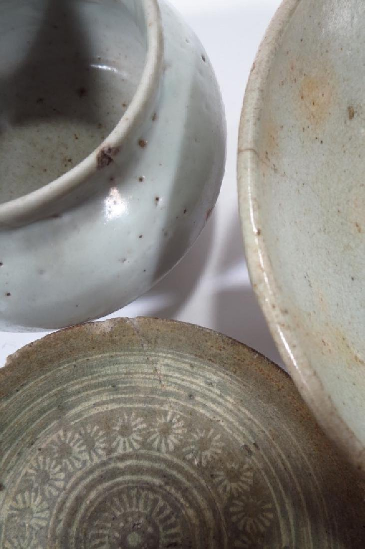 Grp of Korean Ceramic Bowls,possibly 11-13th C. - 3
