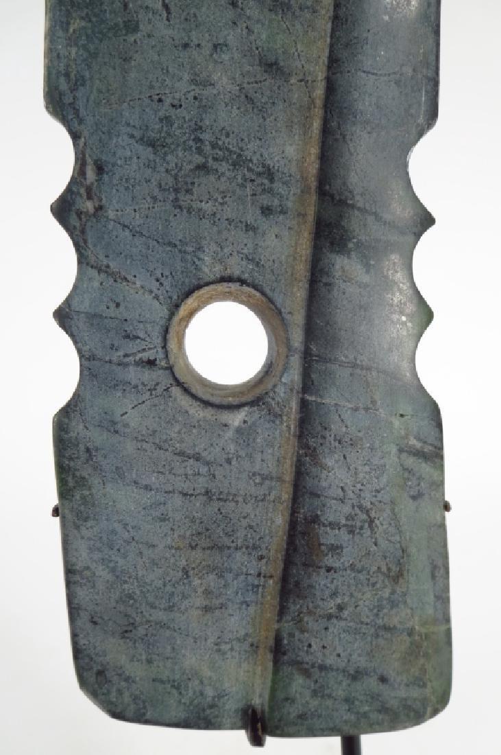 Archaic Chinese Jade Zhang Blade, 2300-1700 BC - 5