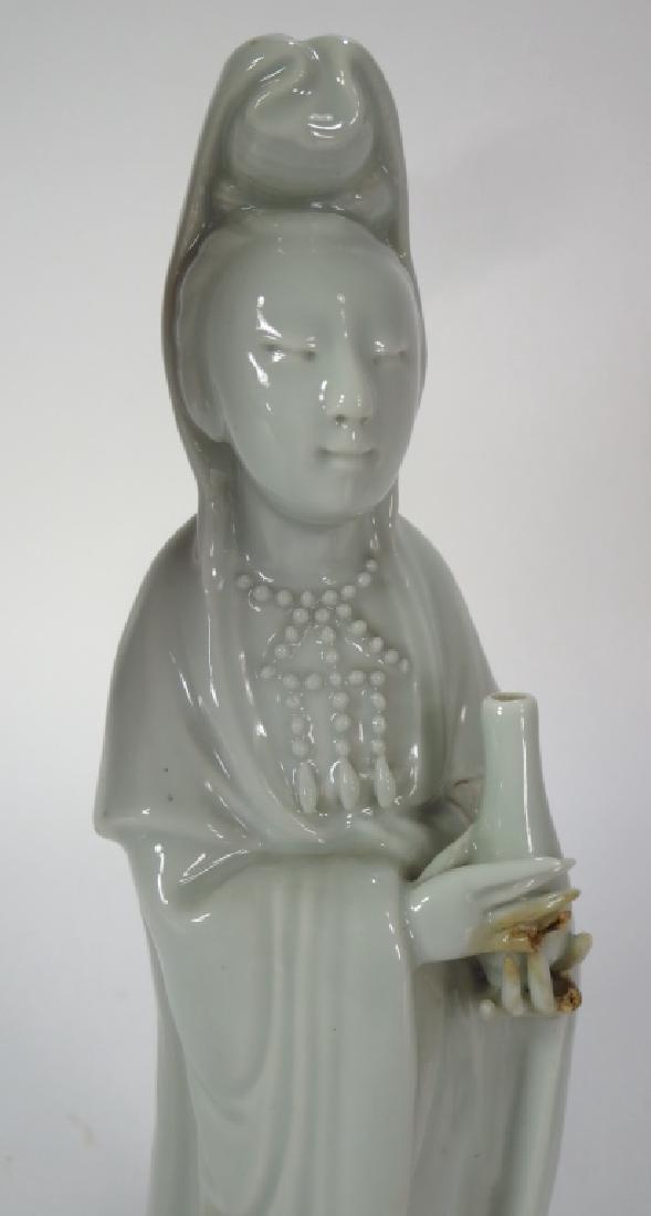 Pair of Glaze Ceramic Chinese Sages, 19th C.,et al - 3