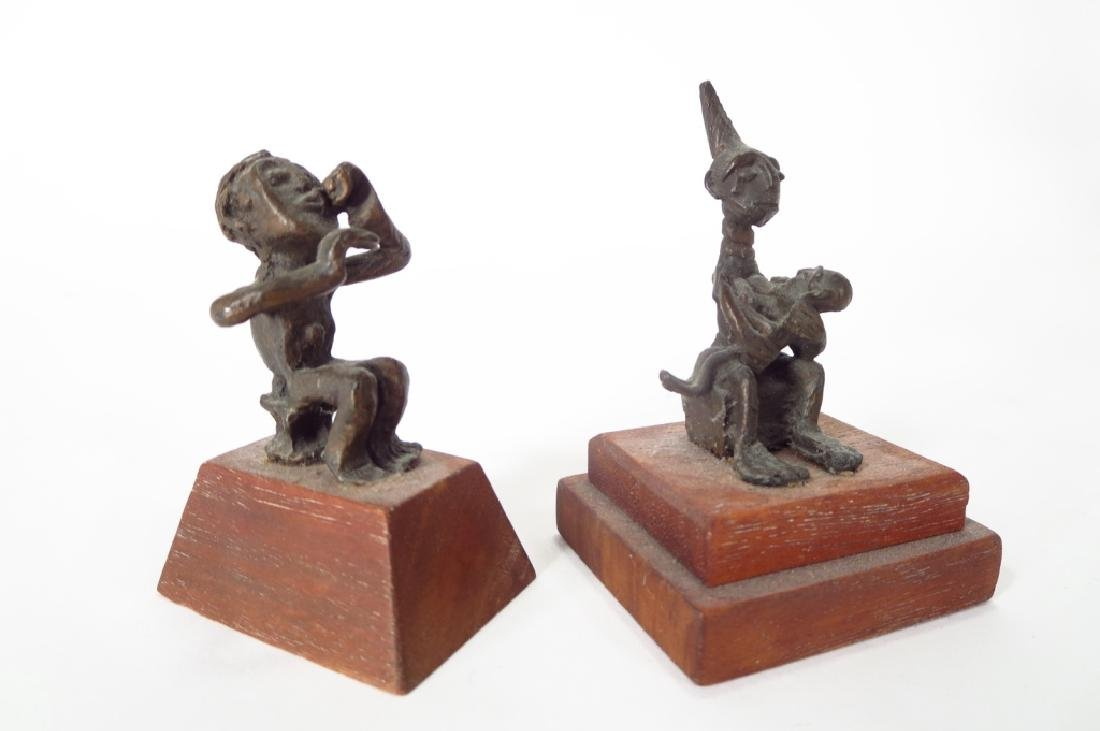 African and Asian Bronze & Pottery Figures - 4