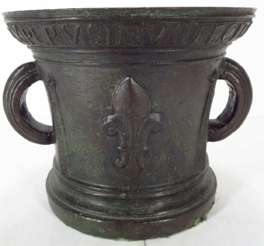 Renaissance Bronze Mortar, 1533 or 1534