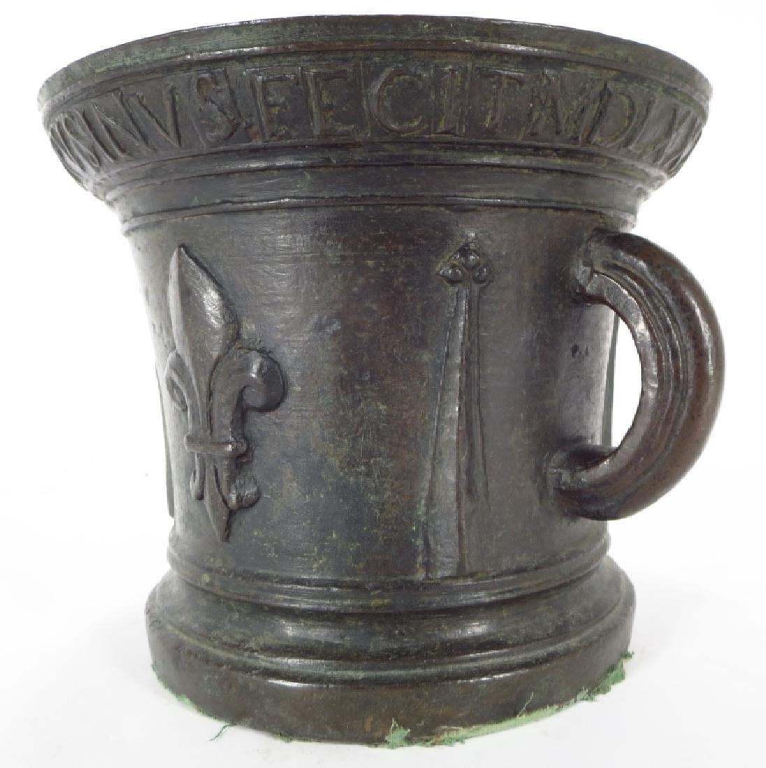 Renaissance Bronze Mortar, 1533 or 1534 - 4