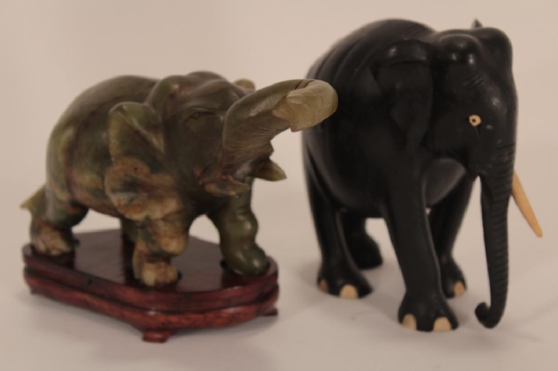 Collection of 30 Elephants, Various Materials - 3