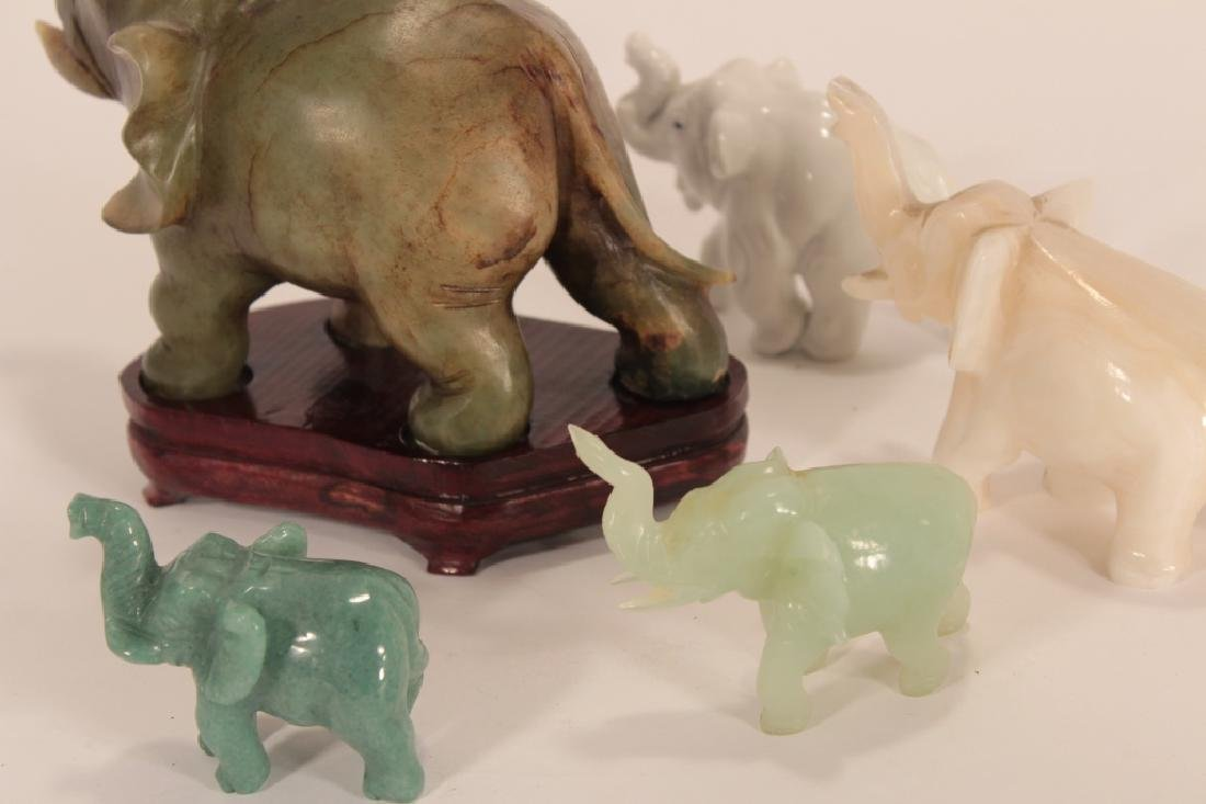 Collection of 30 Elephants, Various Materials - 4