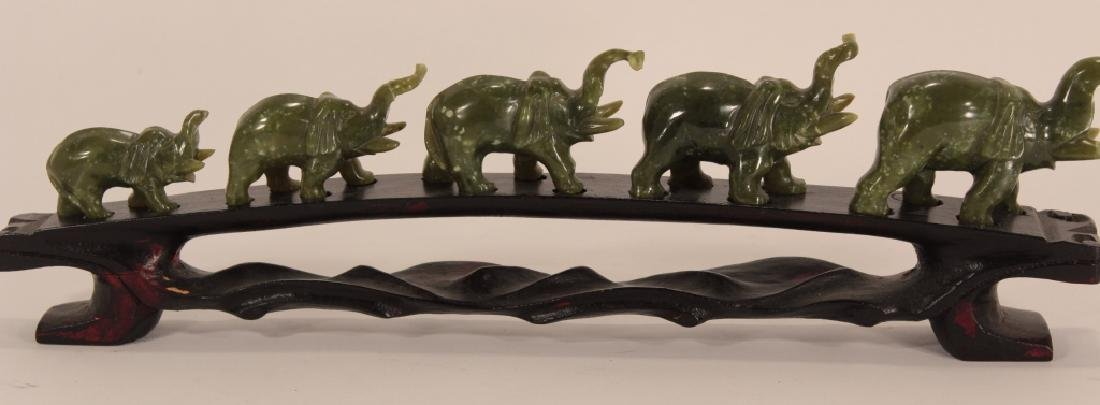 Collection of 30 Elephants, Various Materials - 7