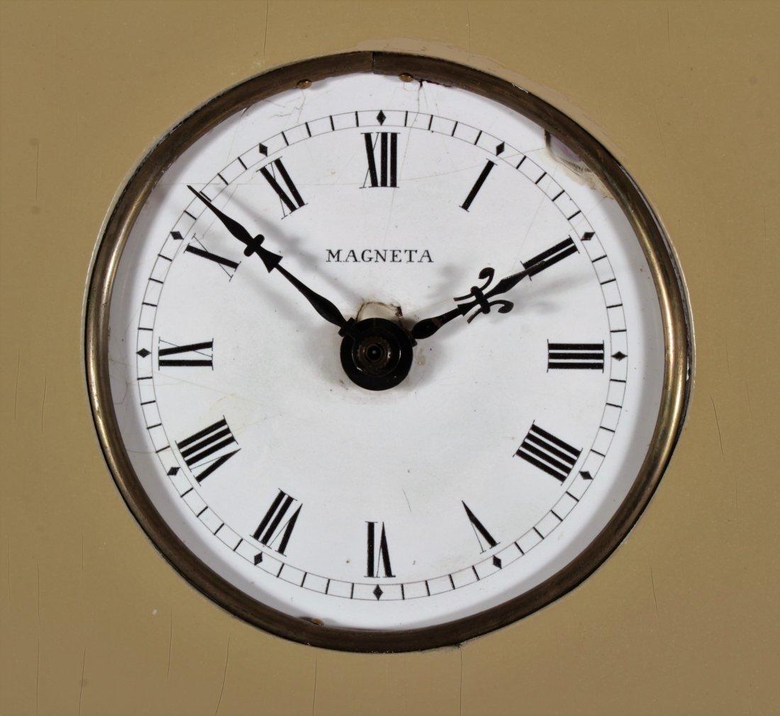 "Parzinger Lacquered Wood ""Banjo"" Clock, c. 1950s - 3"