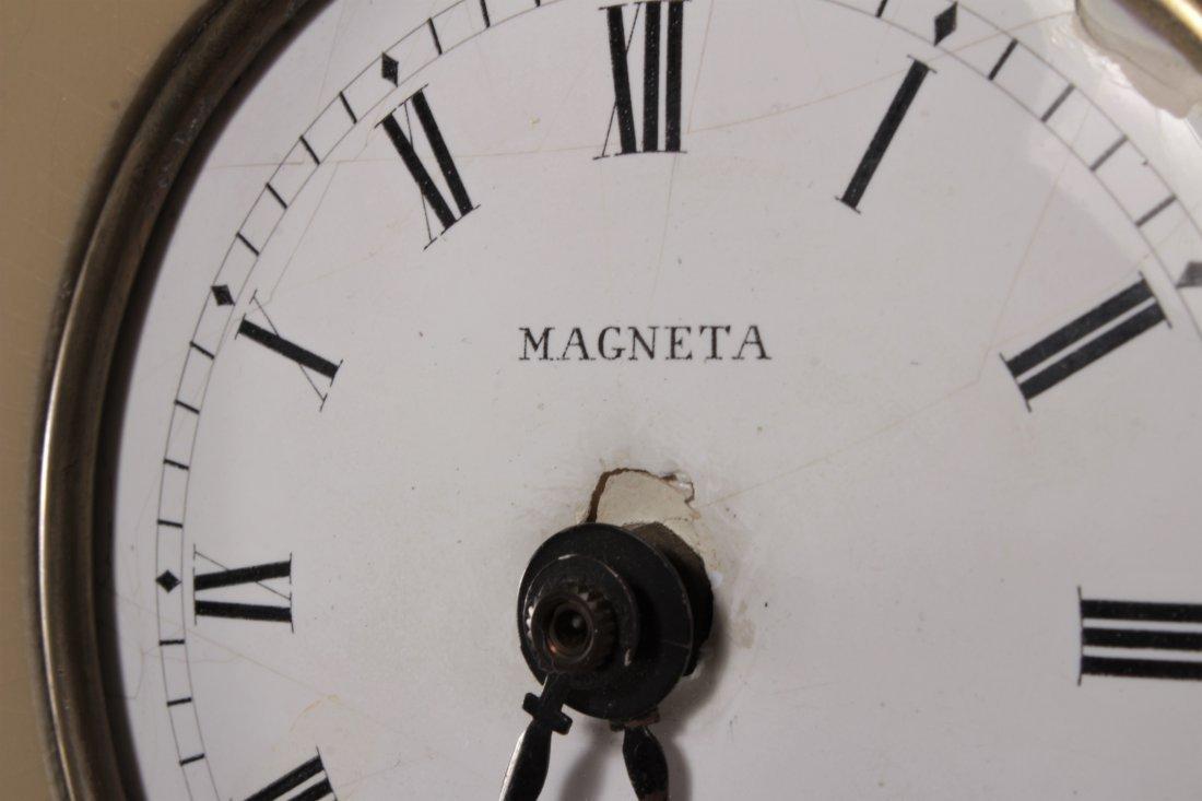"Parzinger Lacquered Wood ""Banjo"" Clock, c. 1950s - 8"
