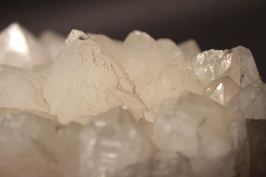 Lot of 2 Quartz Crystal Clusters - 6