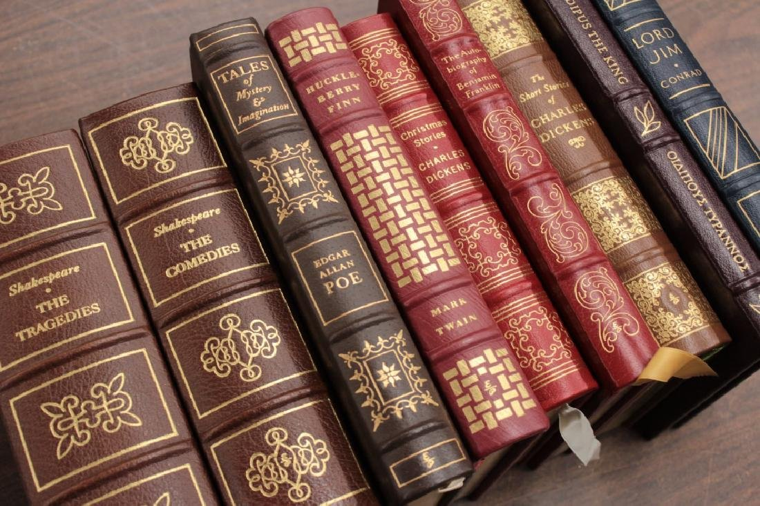 130 Easton Library Collection, Leather Bound Classics - 4