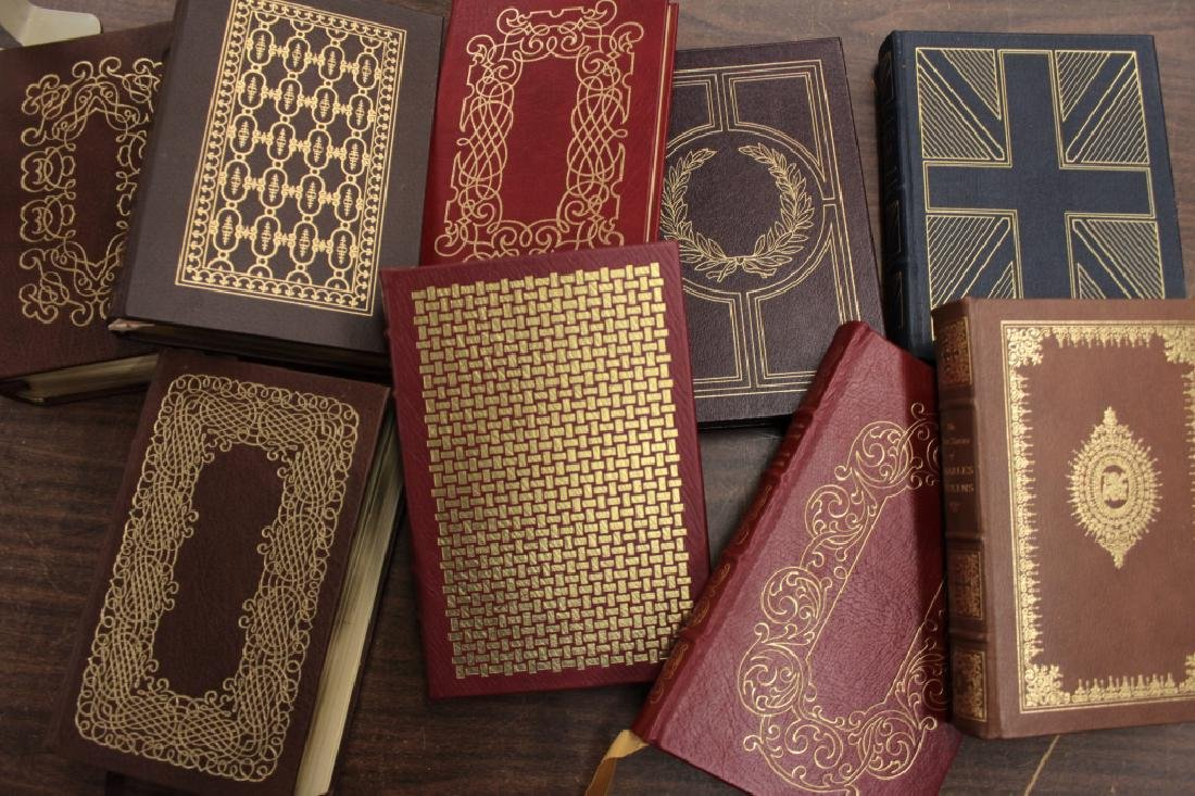 130 Easton Library Collection, Leather Bound Classics - 5