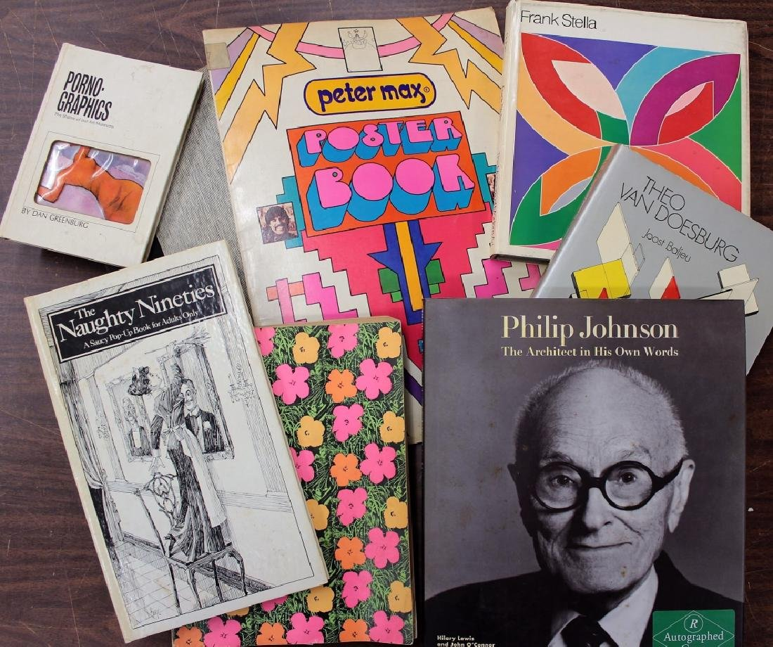 Group of Art/Architecture Books,20th C.