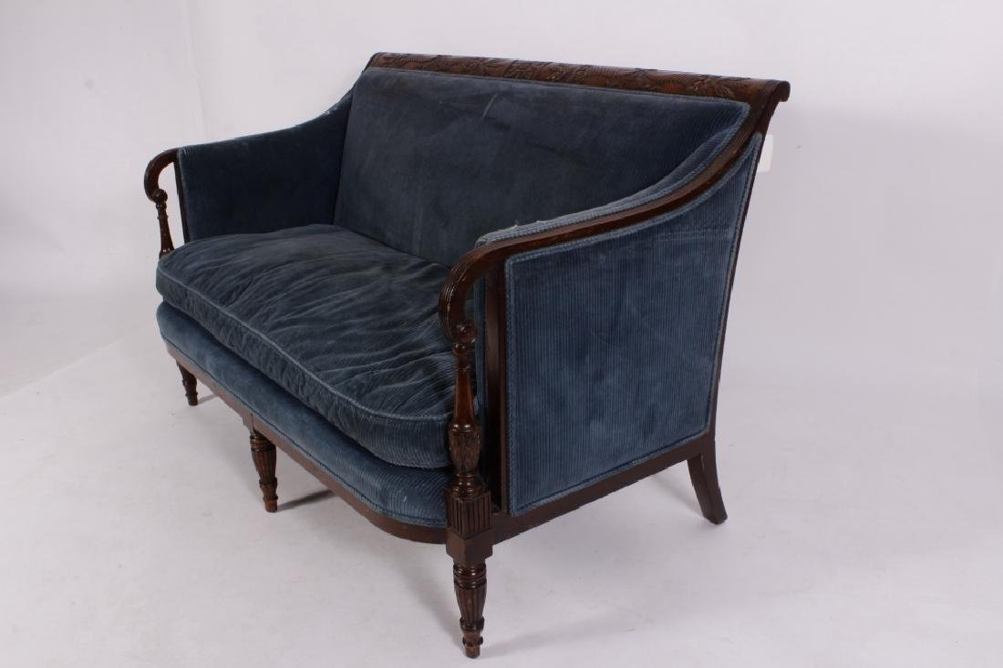 Federal Style Mahogany Settee