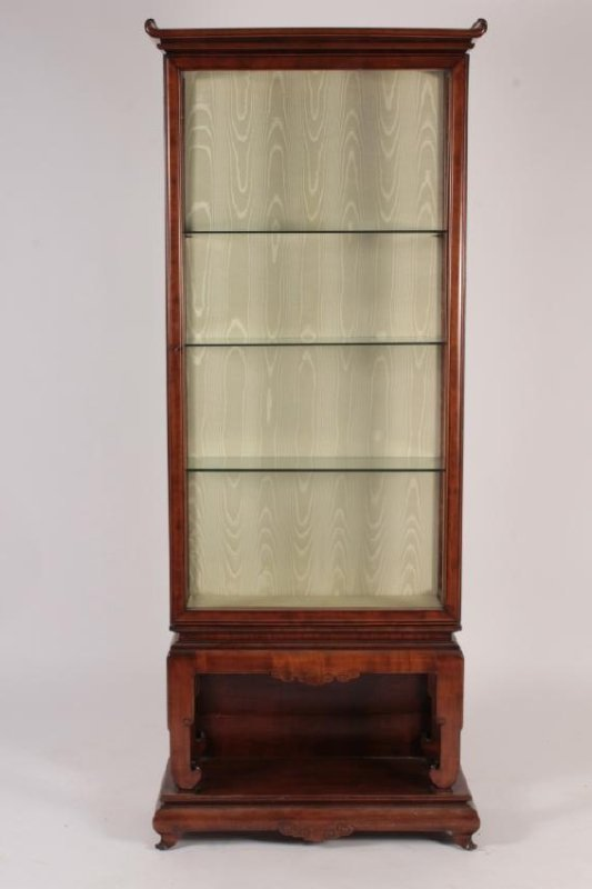 Gabriel Viardot, Chinese Hardwood Display Cabinet