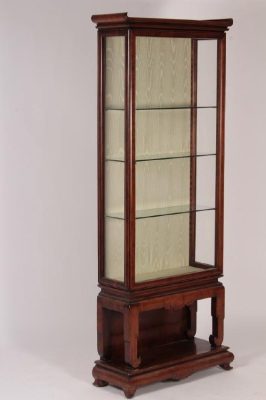 Gabriel Viardot, Chinese Hardwood Display Cabinet - 2