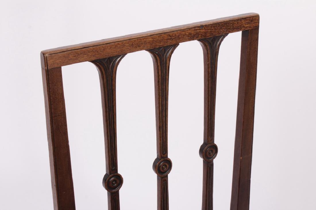 3 19th C. Chairs,Georgian,Regency & Sheraton - 5