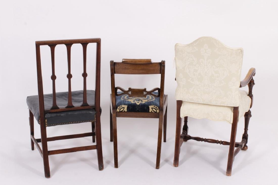 3 19th C. Chairs,Georgian,Regency & Sheraton - 8