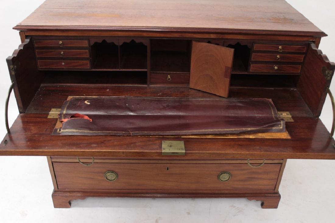 English Mahogany Butlers Desk, 19th C. - 2