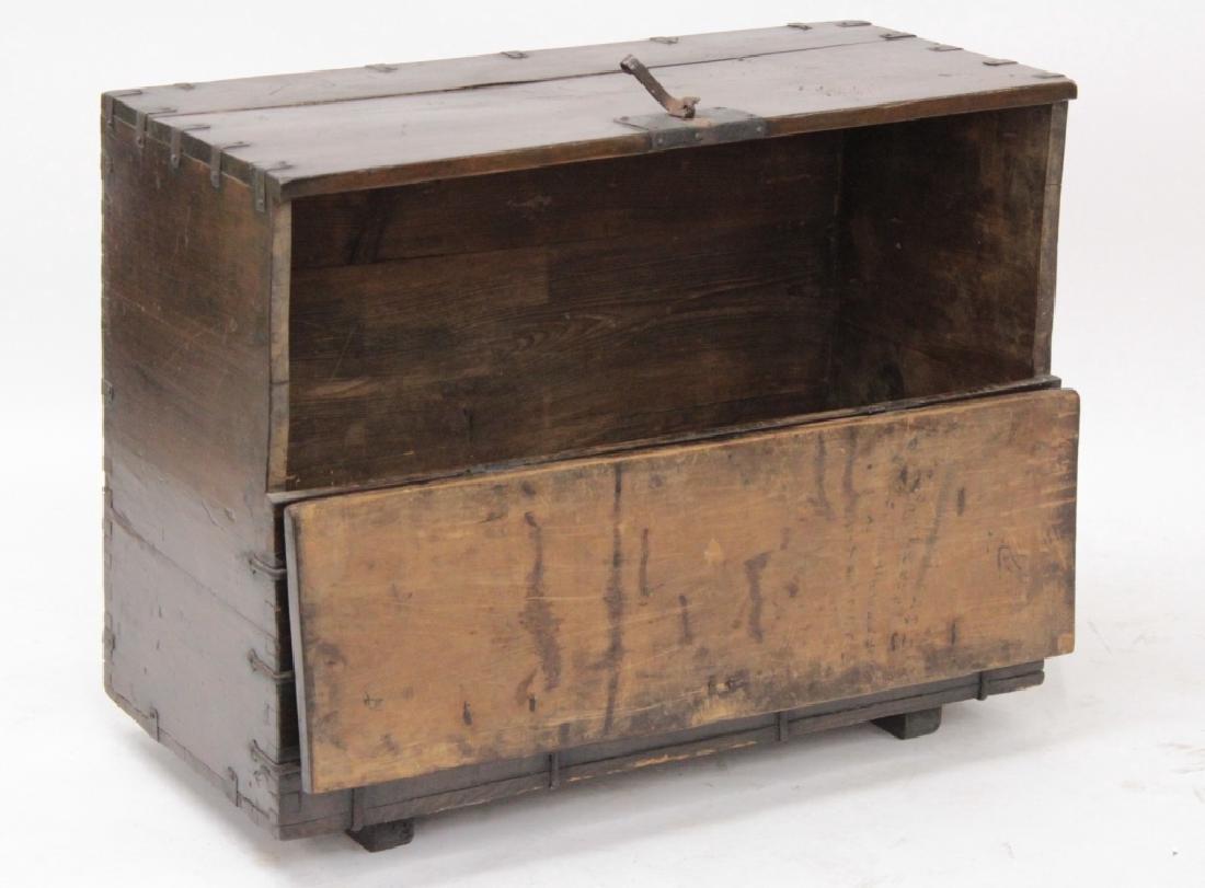 Korean Bandaji Wood/Iron Storage Chest,19th C. - 3