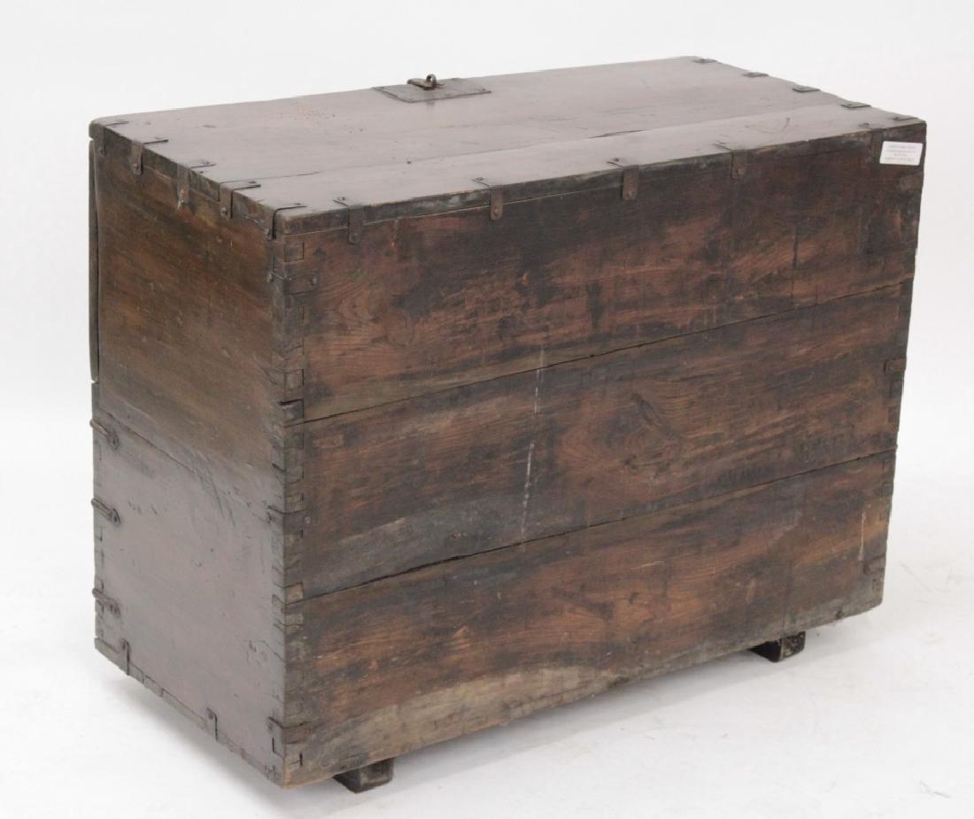 Korean Bandaji Wood/Iron Storage Chest,19th C. - 4