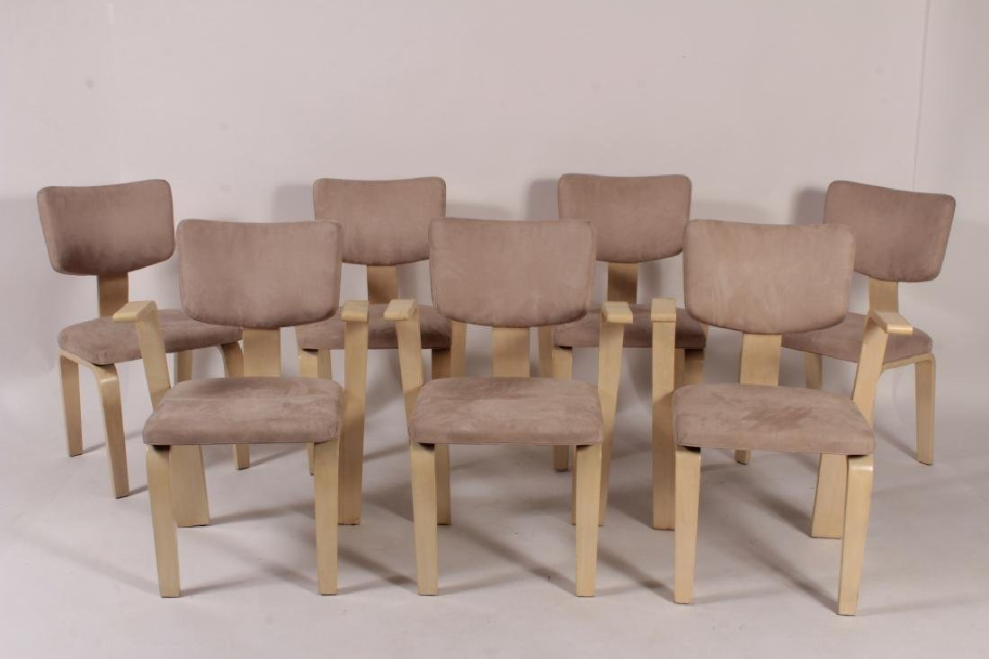 7 Style of Thonet  Bent Wood Chairs, 20th C.