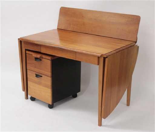 Herman Miller TD Desk Rolling File Drawer - Herman miller tulip table