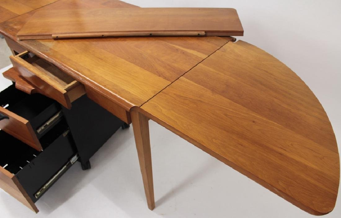 Herman Miller TD Desk & Rolling File Drawer - 3