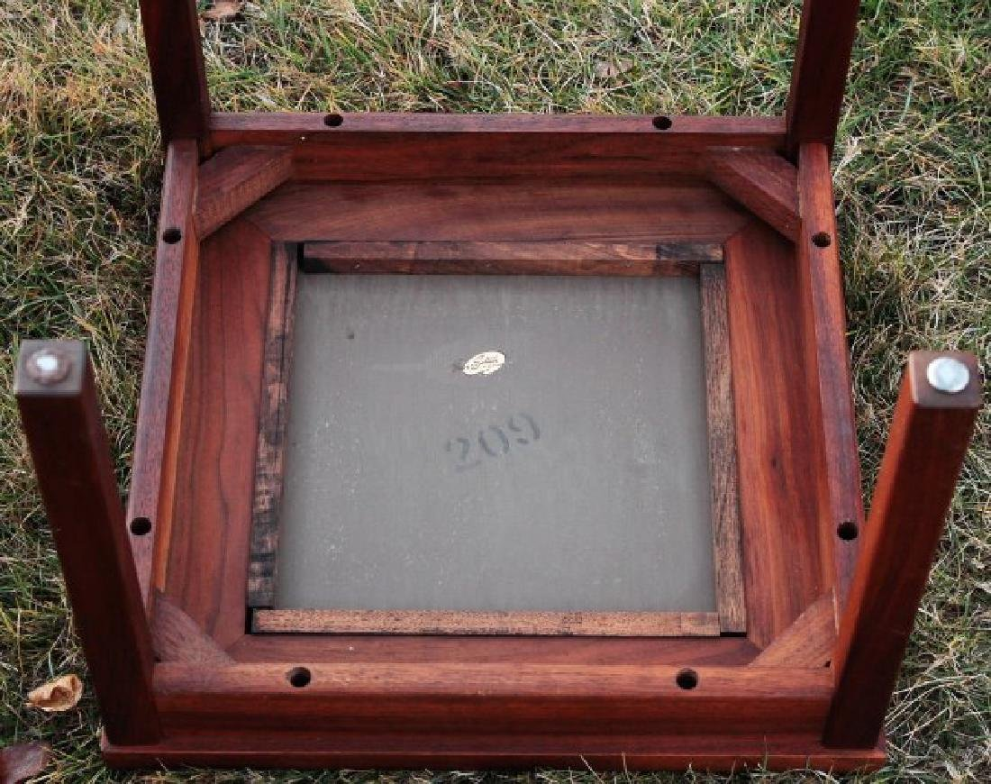 Brown Saltman Midcentury: 3 Walnut & Tile Tables - 5