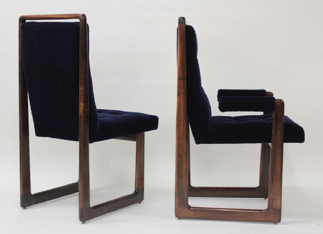 8 Vladimir Kagan Walnut Dining Chairs, c. 1970 - 2