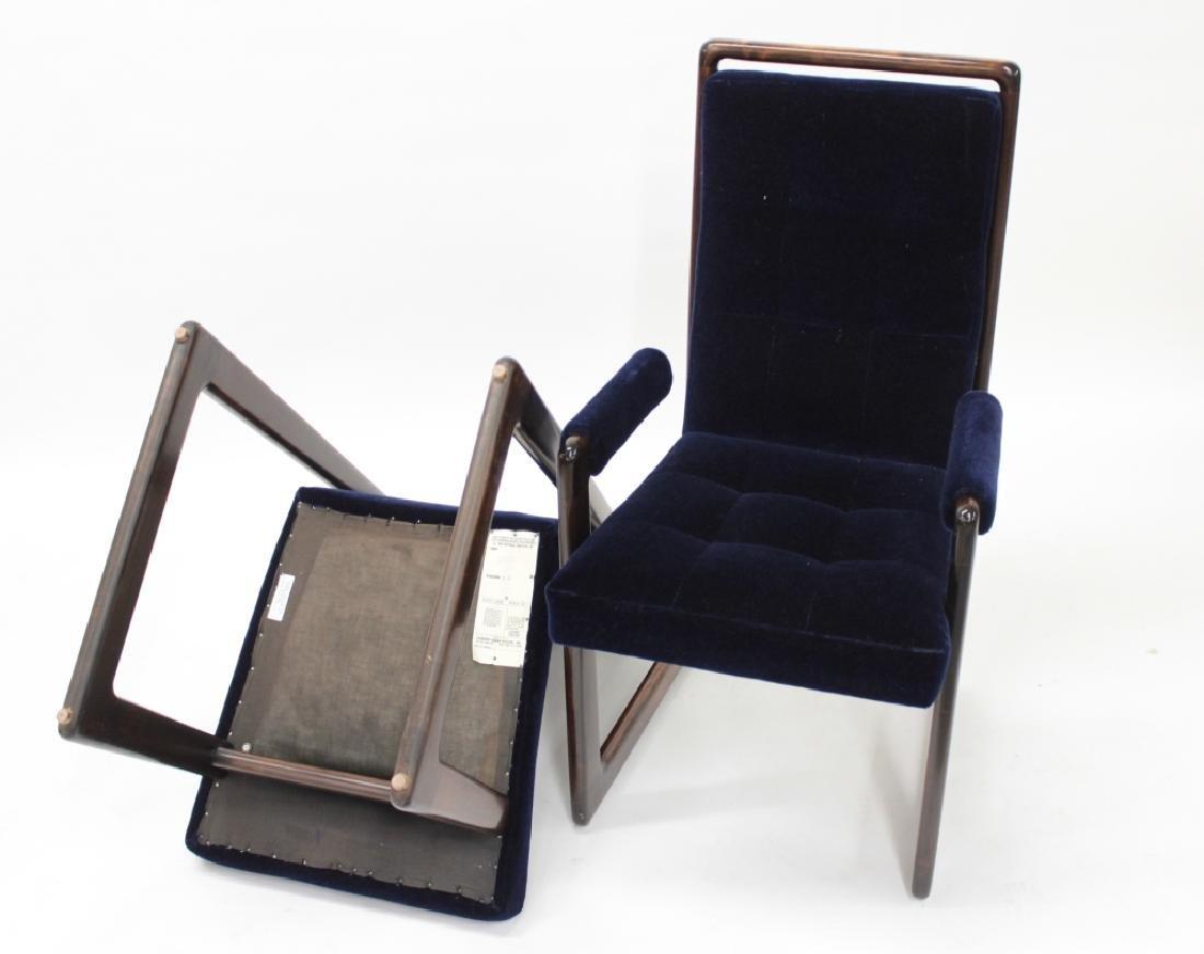 8 Vladimir Kagan Walnut Dining Chairs, c. 1970 - 3