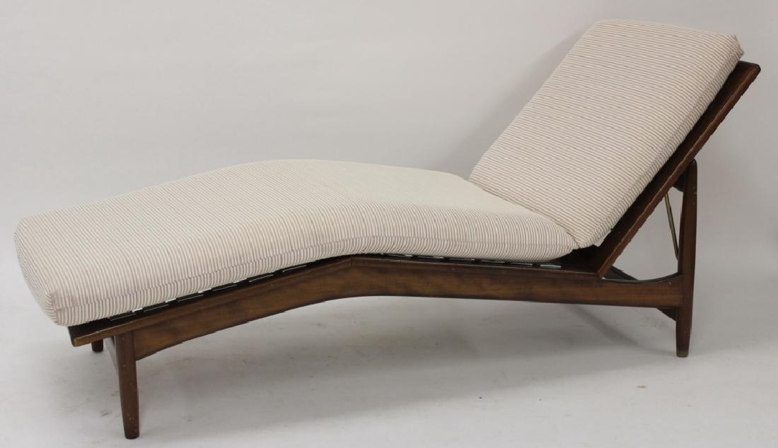 Selig Denmark Birch Chaise, c. 1960's