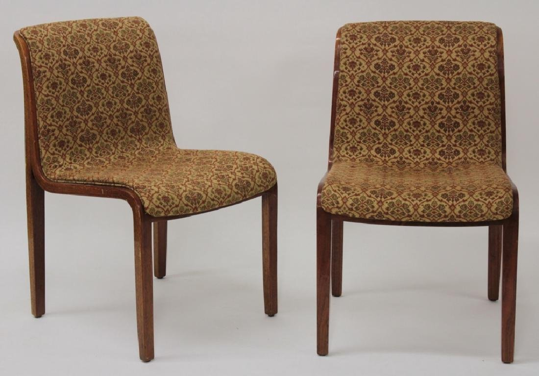 Knoll Midcentury Bent Wood Dining Chairs.