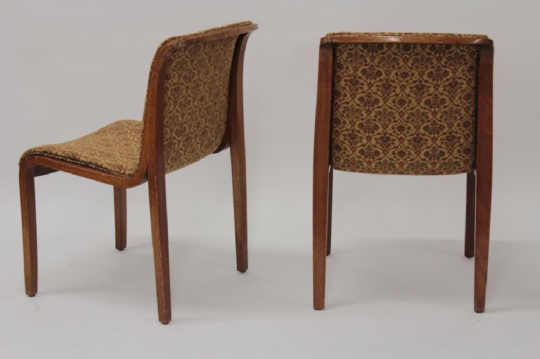 Knoll Midcentury Bent Wood Dining Chairs. - 2
