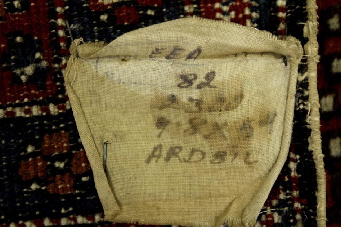Ardabil (N.W. Iranian) Hall Rug - 6