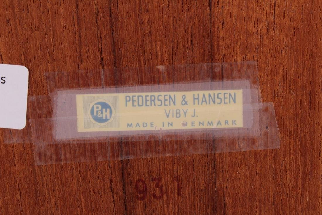 Pedersen & Hansen Floating Teak Mirror, c. 1960 - 5