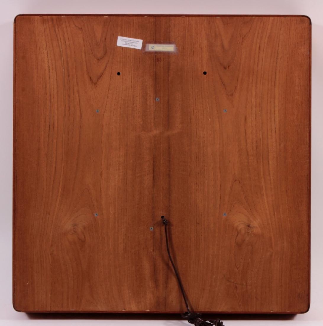 Pedersen & Hansen Floating Teak Mirror, c. 1960 - 6