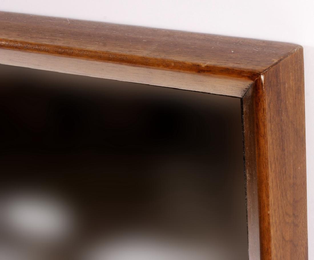 Large Mid Century Modern Danish Mirror,20th - 3