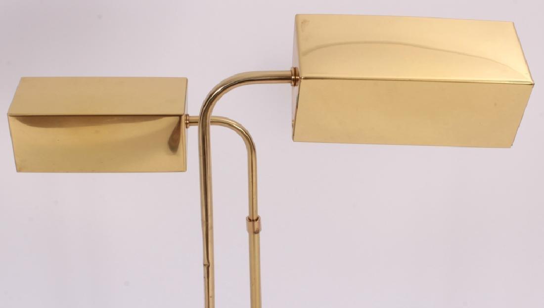 Pr. of Mid Century Modern Brass Floor Lamps,20th C - 5