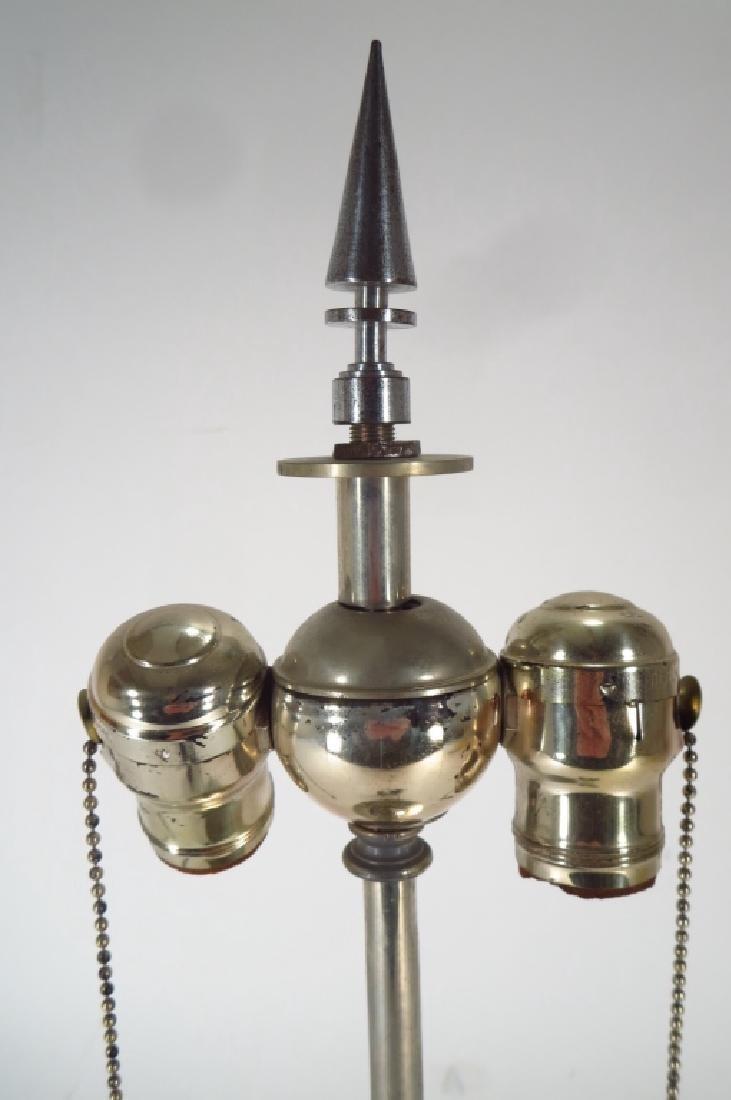 Modern chrome table lamp - 3