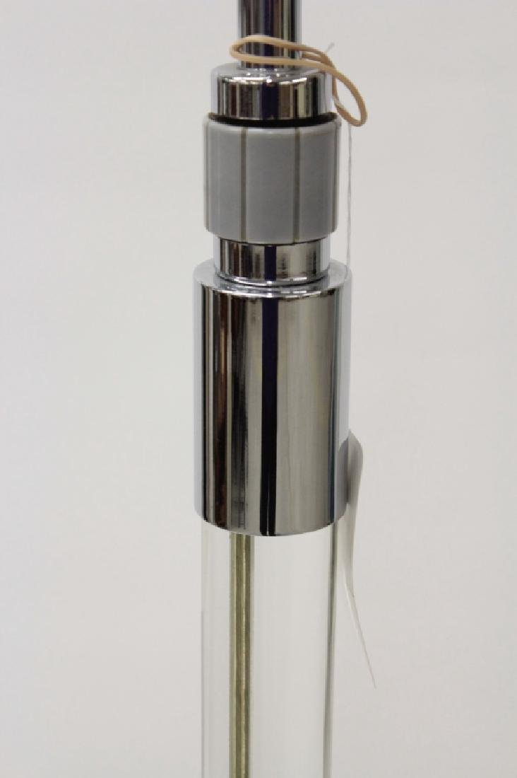 Hansen Stainless Steel/Glass Floor Lamp, c.1960's - 5