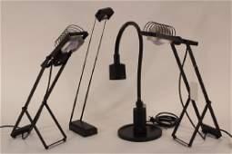 Lot of 4 Lamps Pr Ernesto Gismondi Artemide Betec