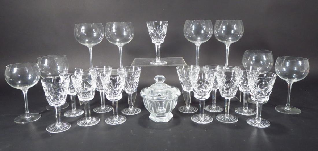 Group of Waterford & Baccarat Stemware & Baccarat