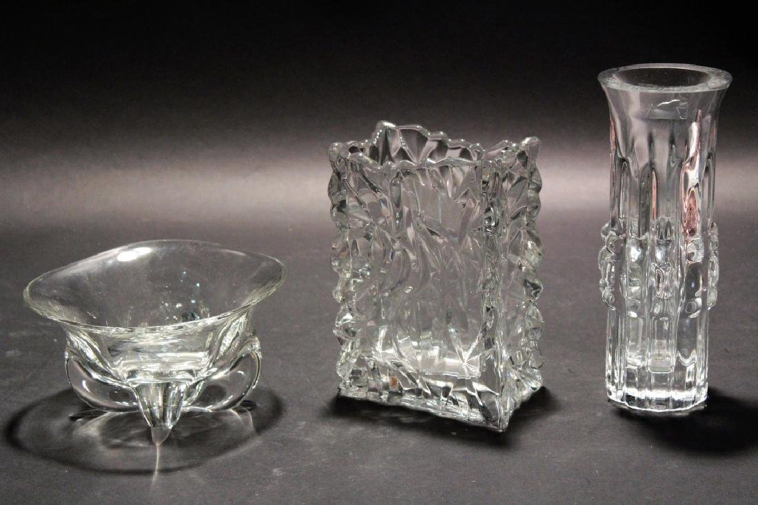 Lot 9 Modern Glassware & Paperweights inc. Aalto - 2