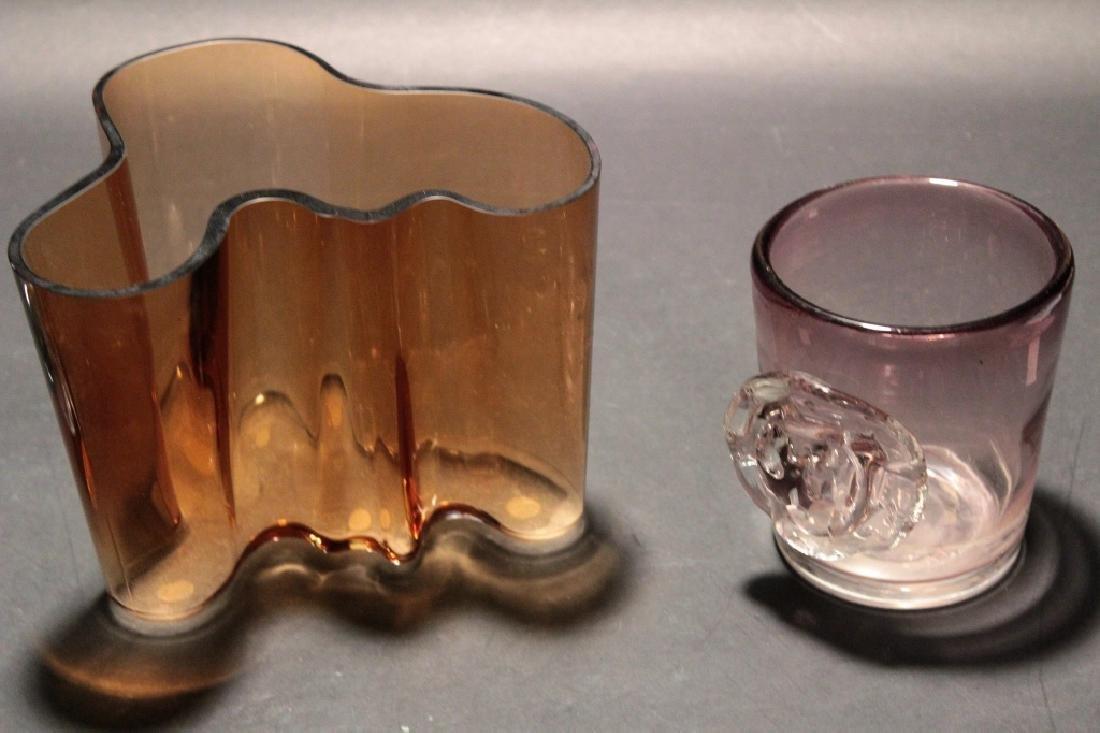 Lot 9 Modern Glassware & Paperweights inc. Aalto - 4