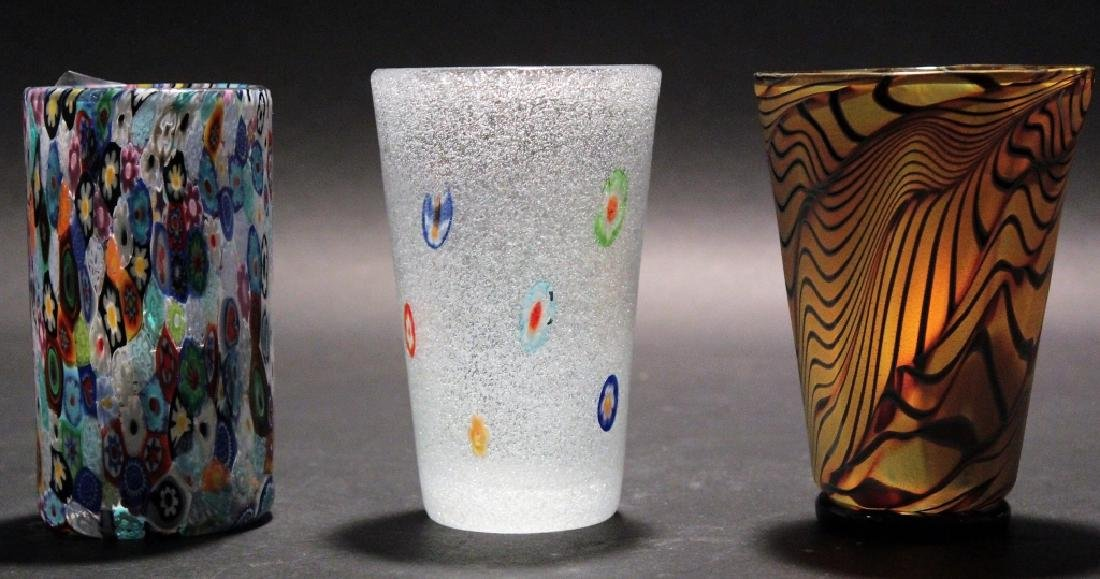 11 Contemporary Art Glass 3 pcs of Zweifel 20th c. - 4