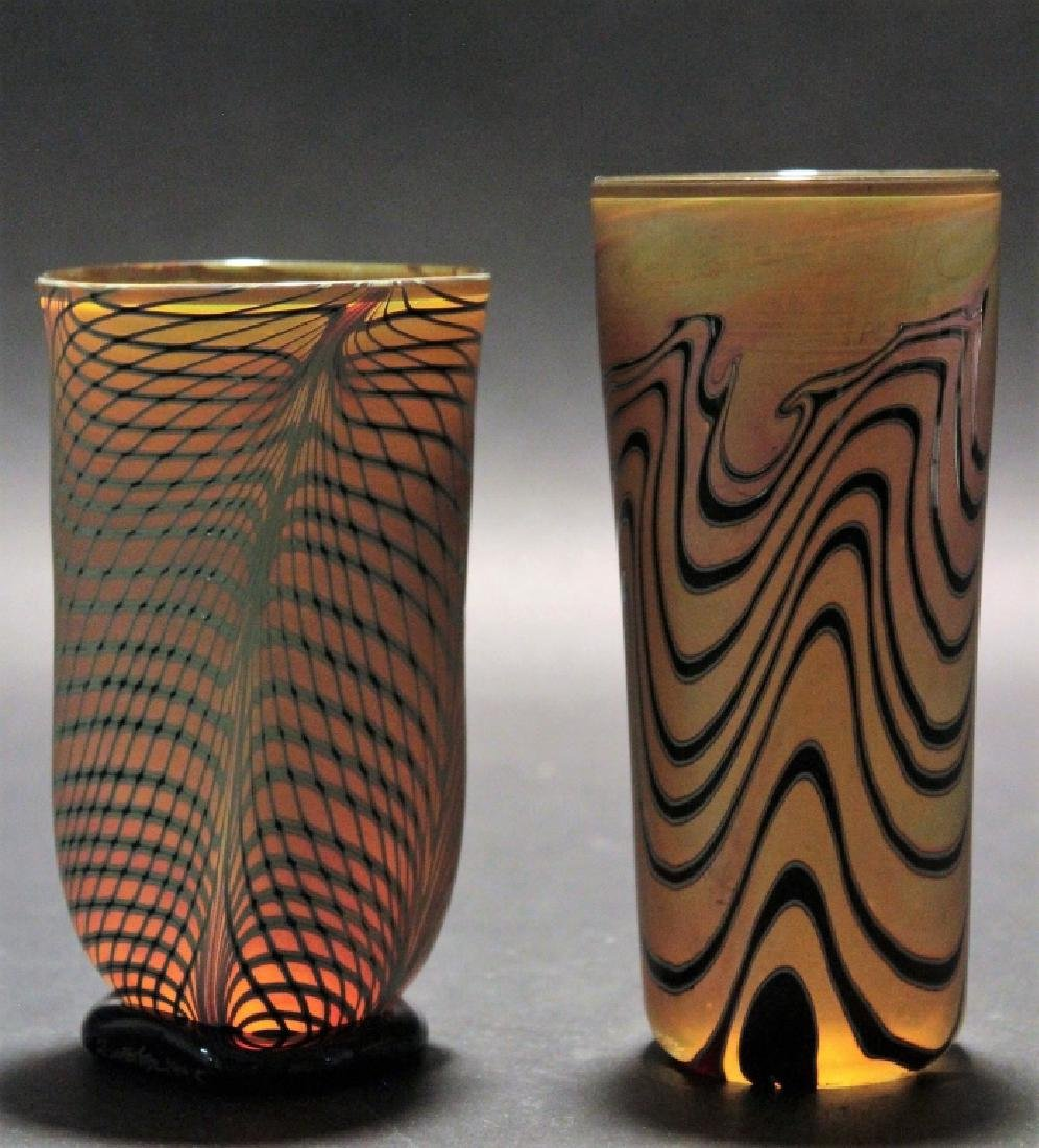 11 Contemporary Art Glass 3 pcs of Zweifel 20th c. - 5