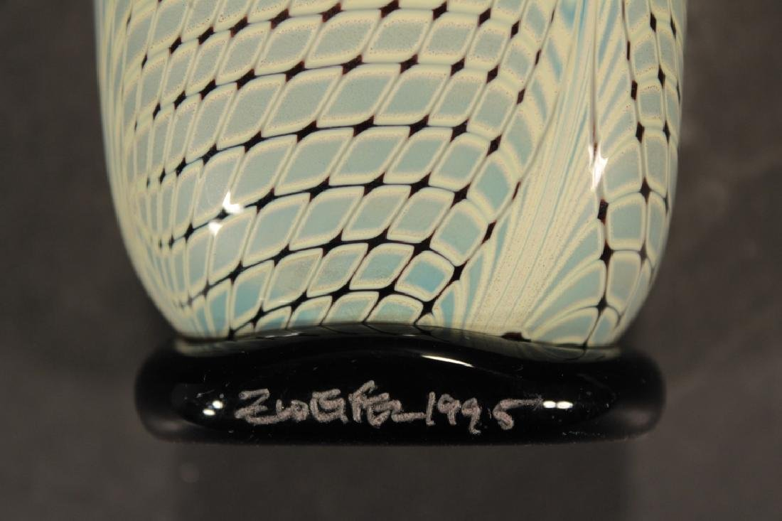 11 Contemporary Art Glass 3 pcs of Zweifel 20th c. - 7
