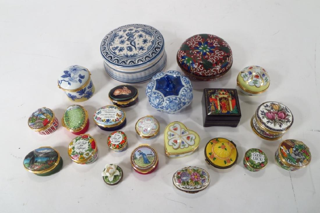 Porcelain Pill Box Collection, et al.