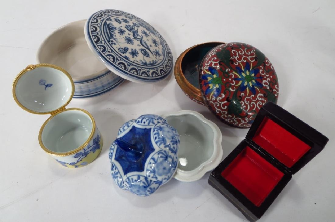Porcelain Pill Box Collection, et al. - 2